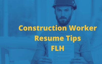 Construction Worker Resumé Tips